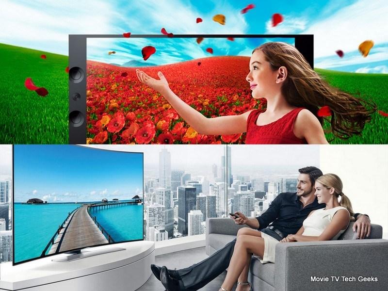 Sony 4K Bravia vs Samsung Curved UHD TV | Movie TV Tech