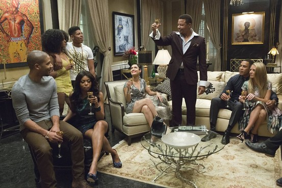 terrance howard toasting family in empire fox show 2015