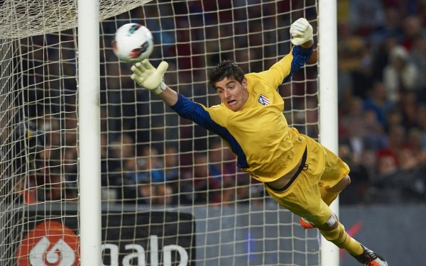 thibaut courtois top premier league soccer bulge players 2015