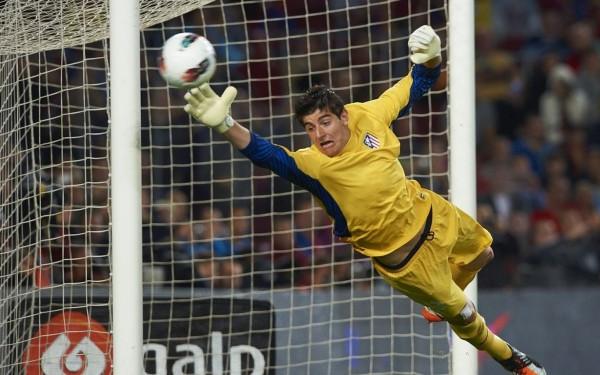 thibaut courtois top premier league soccer bulge players 2015