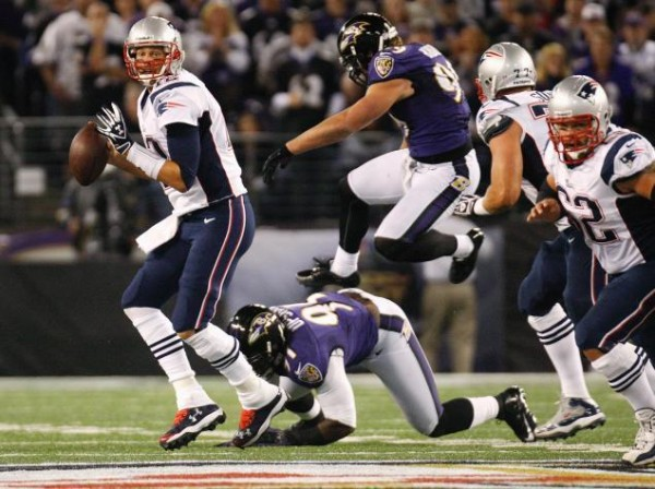 tom brady new england patriots vs baltimore ravens nfl 2015 playoffs images
