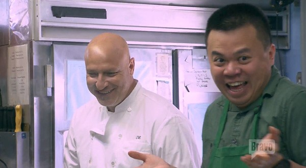 tom with mei brother in top chef boston 2015