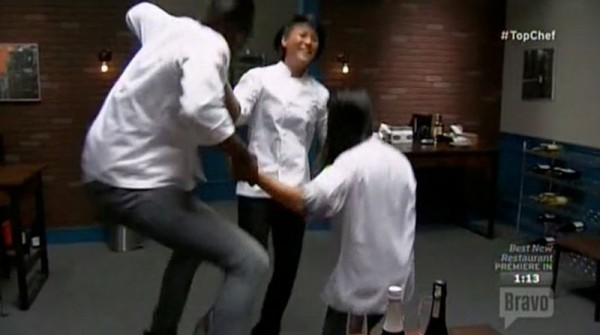 top chef boston gregory melissa mei jumping for finals 2015