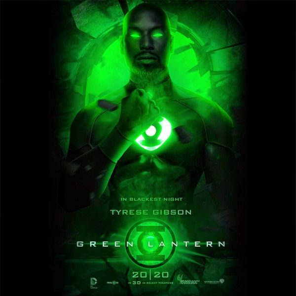 tyrese gibson greened up for lantern movie reboot 2015