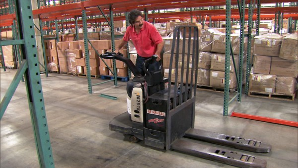 undercover boss rick forman driving forklift 2015 images