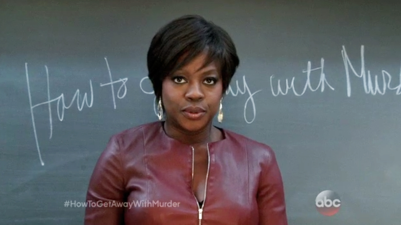 Viola David Fierce On How To Get Away With Murder Abc 2015 Image Recaps