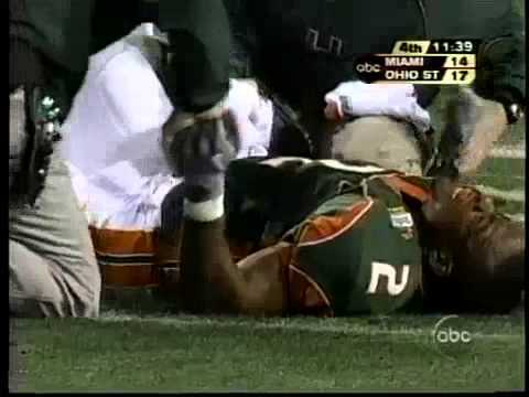 willis mcgahee worst football injuries ever 2015