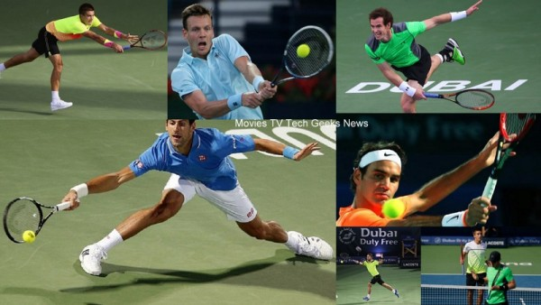 2015 ATP Dubai Tennis Recap Djokovic Federer Coric Berdych Move To Semis