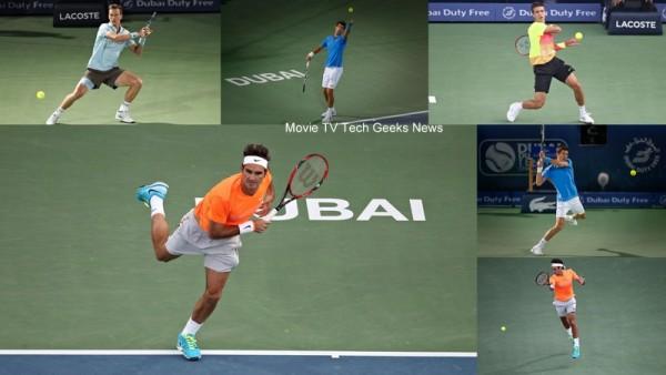 2015 ATP Dubai Tennis Recap Federer Djokovic Go Head to Head