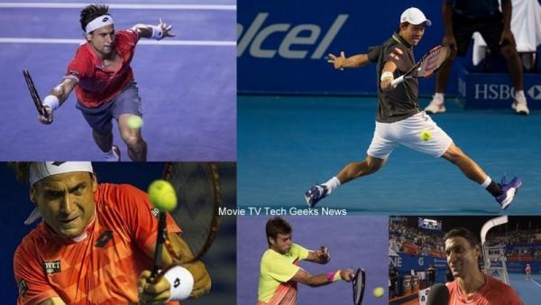 ATP Acapulco 2015 Recap David Ferrer Taking On Kei Nishikori