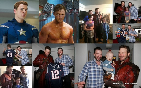 Kids Win With Captain America & Star-Lord Super Bowl XLIX Bet