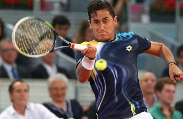Nicolas Almagro tennis career lagging at brasil atp tennis open 2015