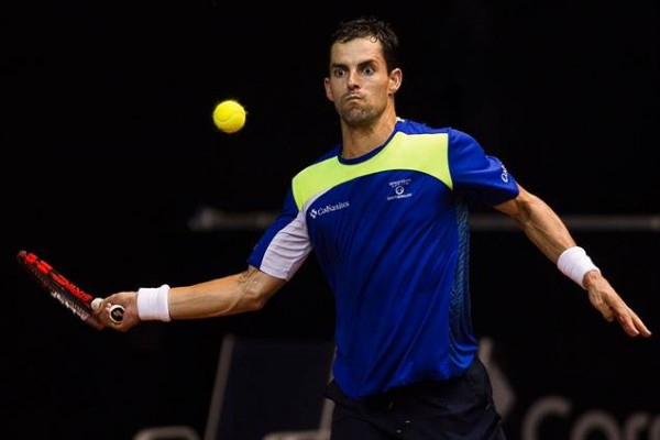 Santiago Giraldo makes semi finals brasil atp tennis open 2015 images