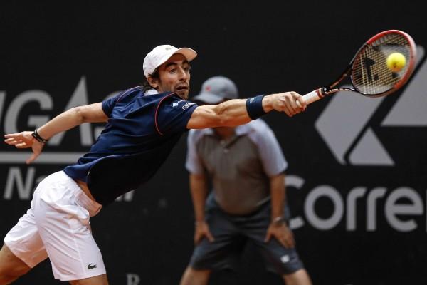 Santiago Giraldo vs Pablo Cuevas brasil atp tennis open 2015 images