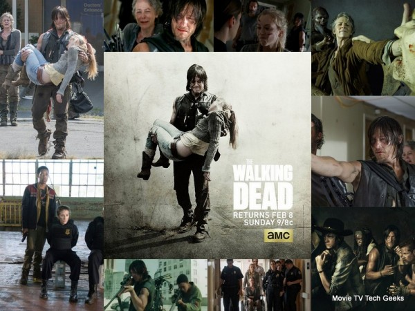 THE WALKING DEAD Mid-Season Catch Up 2015
