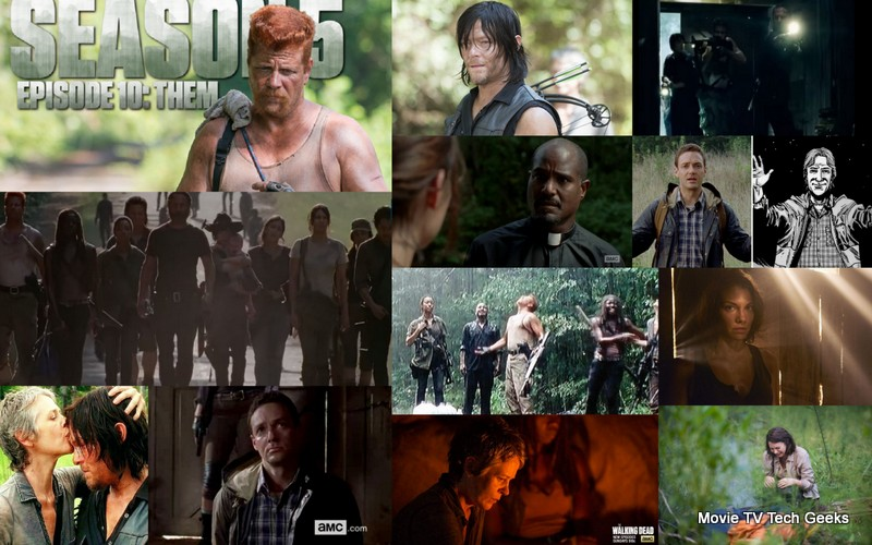 The Walking Dead Season 5 Ep 10 Fresh Faced Aaron Shows Up Movie