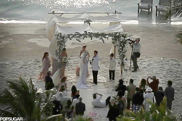 amber heard johnny depp wedding in bahamas 2015 images