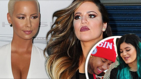 amber rose twitter war with khloe kardashian and wiz khalifa 2015