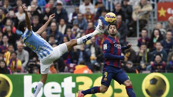 barcelona loses to malaga la liga soccer 2015