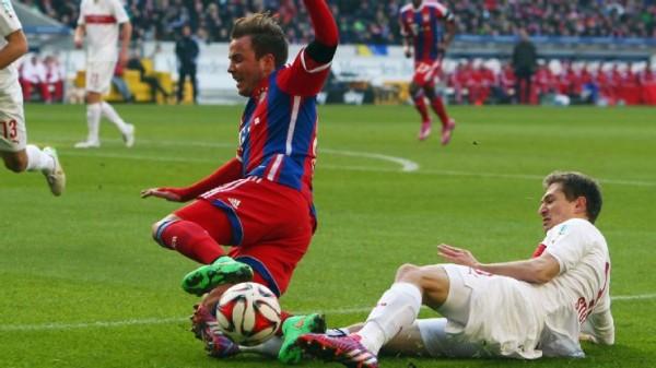 bayern munich beats vfb stuttgart sexy soccers 2015 images