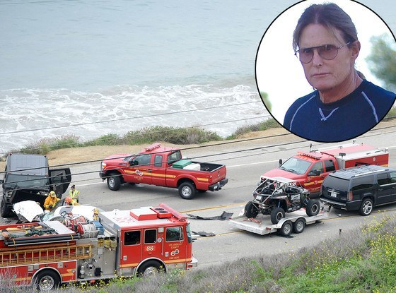 bruce jenner crash kills woman 2015 images