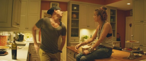channing tatum gaying it up for amber heard in magic mike xxl 2015