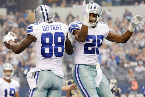 Dallas Cowboys Stars Demarco Murray Dez Bryant Hit Free