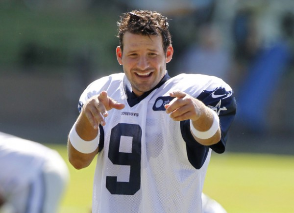 dallas cowboys tony romo secure with huge contract 2015