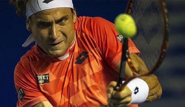 david ferrer grunting hard for ryan harrison ball atp acapulco 2015