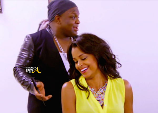 derek j with claudia jordan real housewives of atlanta 2015 ep 13