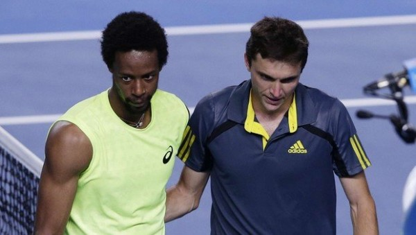 gilles simon and gael monfils to semifinals atp marseille tennis 2015