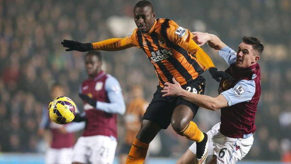 hull city soccer beats aston villa premier league 2015 images