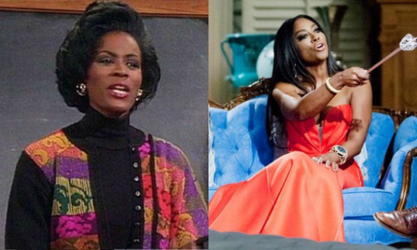 janet  hubert not paid by kenya moore for life twirls on 2015 images