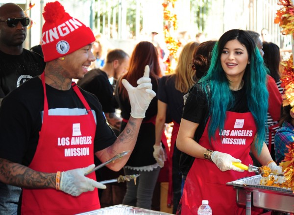 kylie jenner swears shes not dating black men like tyga 2015 images