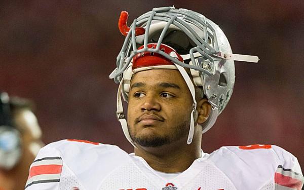 michael bennett ohio state draft pick for detroit lions 2015 images