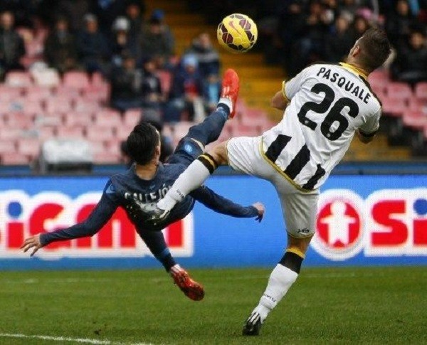 napoli jose maria callejon wins serie a soccer point against udinese 2015