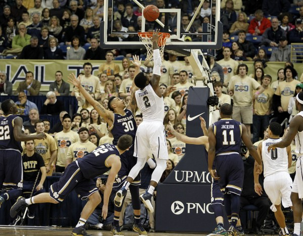 notre dame loses to pittsburgh basketball 2015 recap images