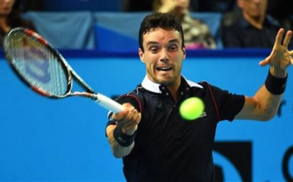 roberto bautista loses to gael monfils atp marseille tennis 2015