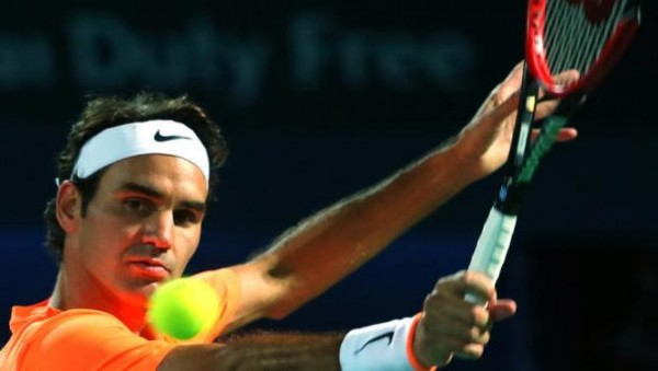 roger federer perfect form for beating richard gasquet dubai tennis open 2015