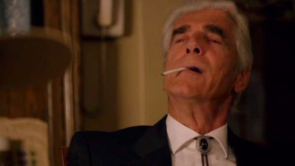 sam elliot cigarette meeting justified season 6 ep 4 images