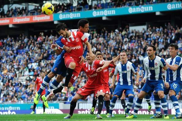 sevilla uses soccer head to beat espanyol la liga 2015 images