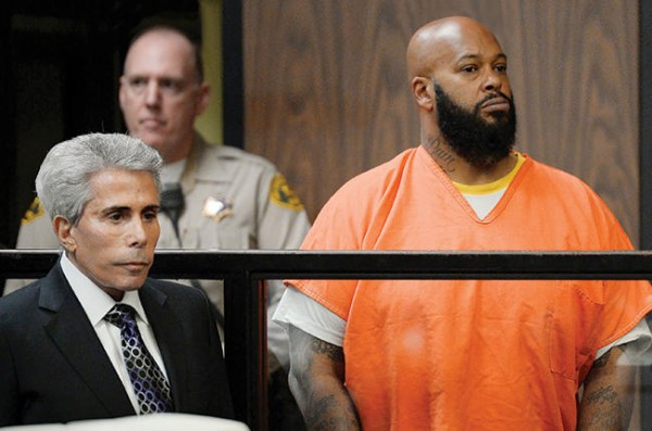 suge knight going to prison 2015 images