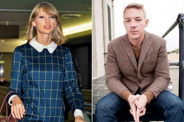 taylor swift and diplo end flat butt feud 2015 images