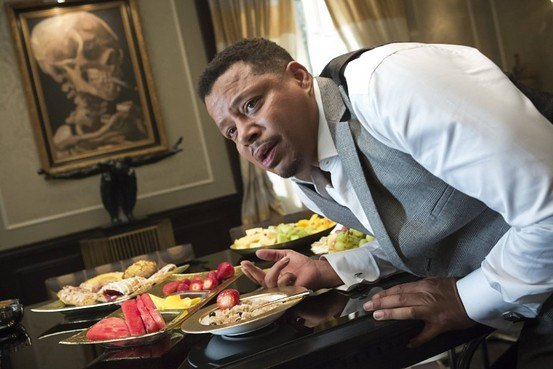 terrence howard choking chicken on empire 2015 images