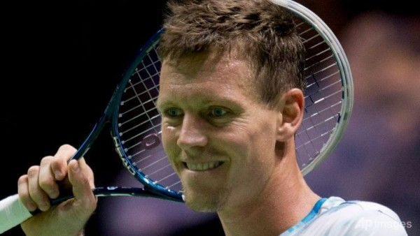 tomas berdych vs gilles simon abn amro tennis 2015