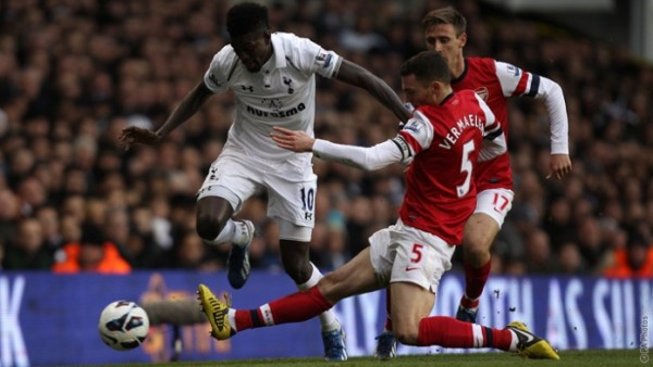 tottenham vs arsenal spurs premier league 2015 images