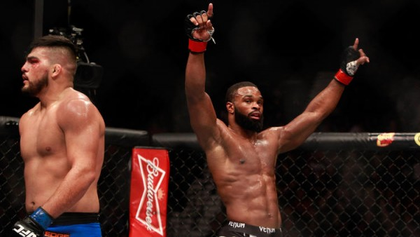 tyron woodly wins third round vs kelvin gastelum fatman ufc 183