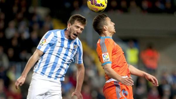 velencia cf lost to malaga castillejo azuga la liga 2015