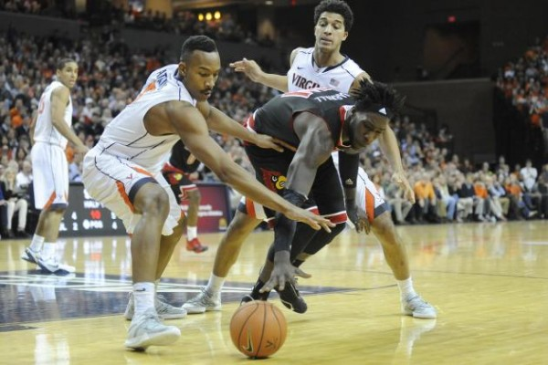 virginia cavaliers beats louisville cardinals 2015 images