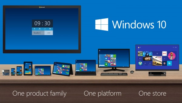 windows 10 one platform for all devices 2015